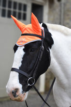 High visibility Stretch and Breathe Ear Bonnet - Fire Orange