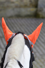 PRE ORDER High visibility Stretch and Breathe Ear Bonnet - Fire Orange