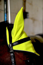 High visibility Stretch and Breathe Ear Bonnet - Lemon