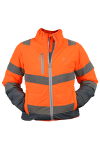 Lucy Puffer Jacket - Orange (Last Chance To Buy)