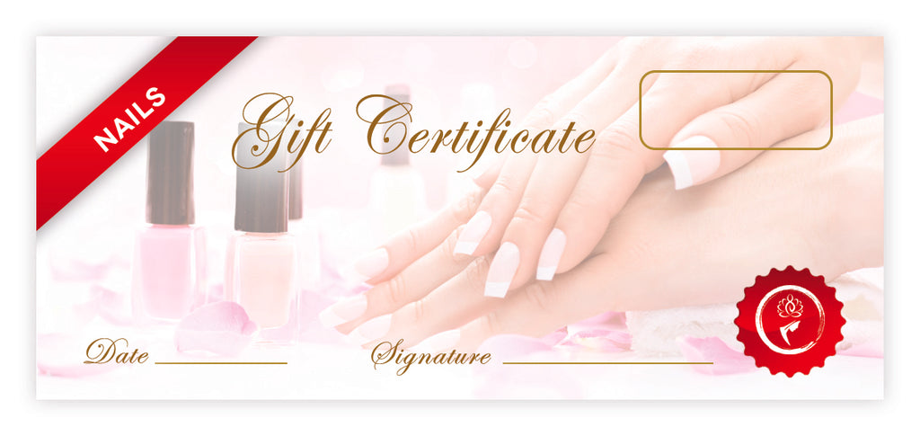Nails Certificates