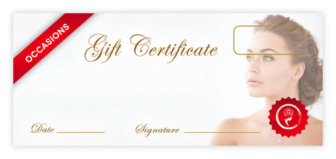 Occasions Certificates