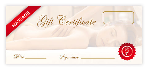 Massage Certificates