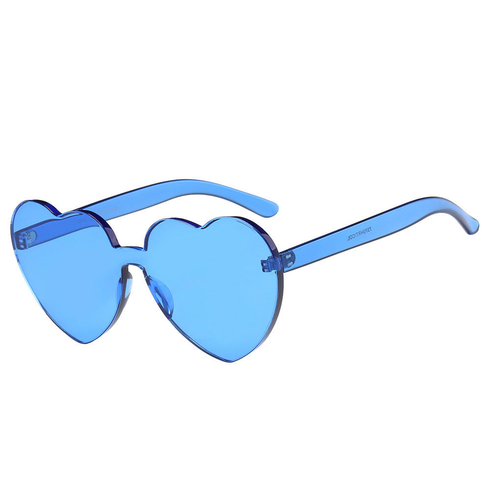 237ec566bd9 Heart-shaped Candy Colored Sunglasses – Five Star Retailers