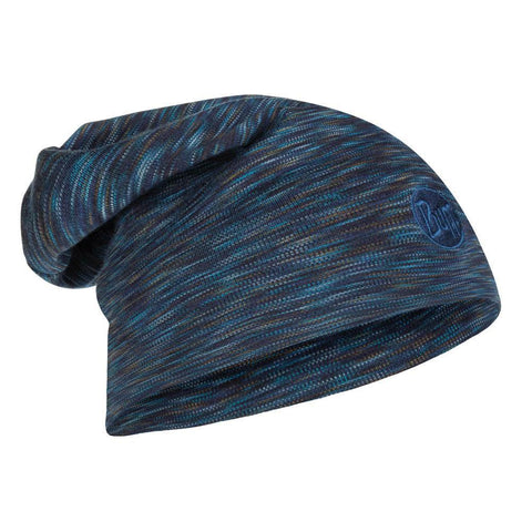 BUFF HEAVYWEIGHT MERINO WOOL HAT LOOSE BLUE