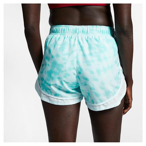 NIKE WOMEN TEMPO SHORT SURF PR TEAL TINT/ WHITE