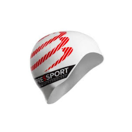 COMPRESSPORT SWIMMING CAP WHT