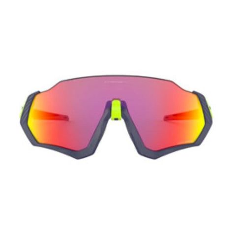 OAKLEY FLIGHT JACKET MATTE NAVY/RETINA BURN PRIZM ROAD