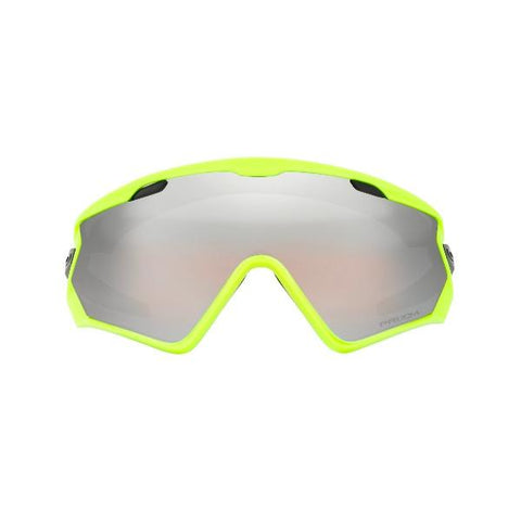 OAKLEY WINDJACKET 2.0 NEON RETINA PRIZM SNOW BLACK IRIDIUM
