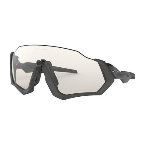 OAKLEY FLIGHT JACKET CLAER BLACK IRIDIUM PHOTOCHROMIC