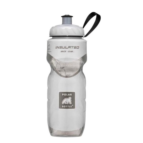 POLAR 20 OZ INSULATED BOTTLE WHITE