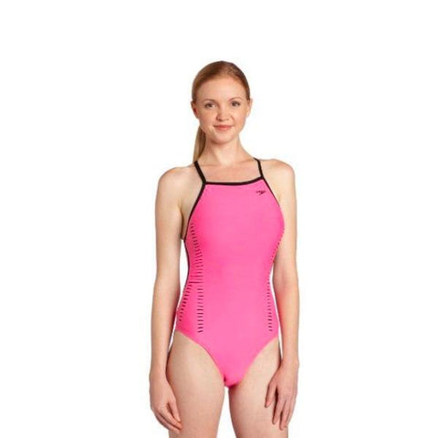 SPEEDO ENDURANC LITE WOMEN BLACK PINK8