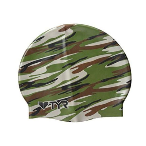TYR SILICONE CAP GRAPHIC