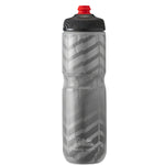 POLAR 24 OZ INSULATED BOTTLE BOLT CHARCOAL / SILVER