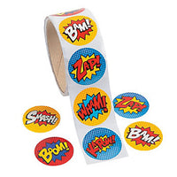 A Collection of Stickers for all Parties and Events Ideal Party Favours
