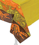 DINOSAUR PARTY Dino Dig Table Cover Tablecloth 137cm x 274cm Free Postage