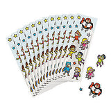 Superhero Stickers pack of 12