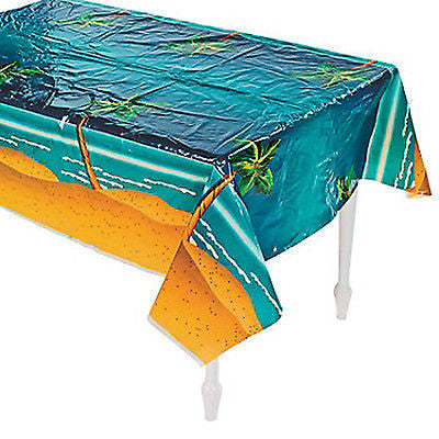 Palm Tree Beach theme Tablecover