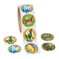 Dinosaur Stickers - pack of 50