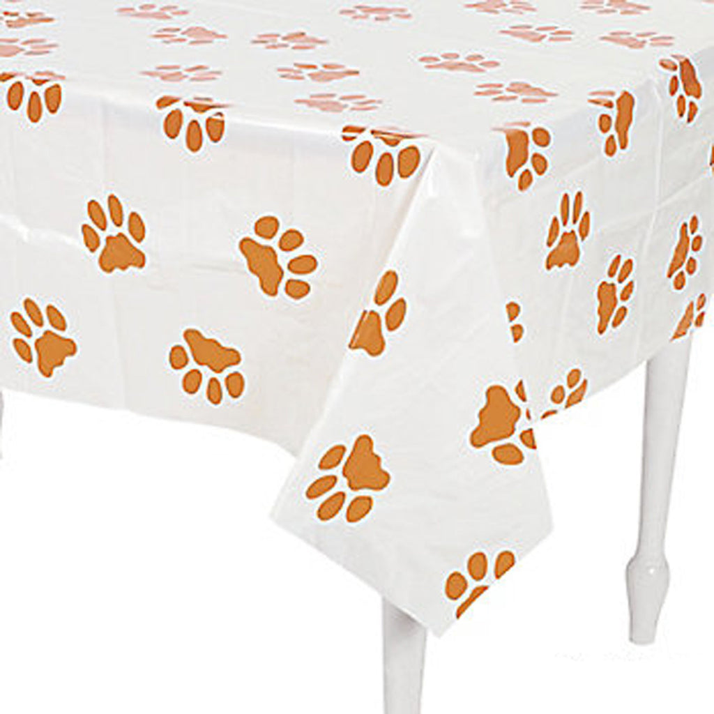 Puppy Paw Print Tablecover