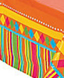 MEXICAN FIESTA PARTY Table Cover Disposable Plastic Tablecloth Free Postage