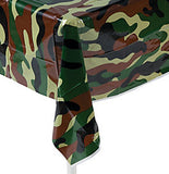 Camouflage Army Party Camo Theme Table Cover Military Tablecloth Free Postage