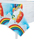 UNICORN PARTY Tablecover Rainbow Unicorns Birthday Table Cover Tablecloth