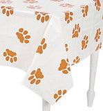 DOG & PUPPY Paw Prints Tablecover Tablecloth Table Cover 137cm x 180cm Free Post