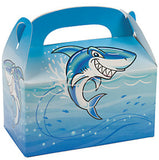 SHARK PARTY Jawsome Medium Treat Favour Jaws Gift Box Pack of 6 Free Postage