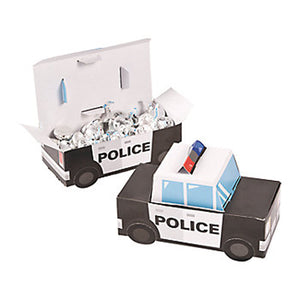 Police Party Treat Boxes - Party by Post