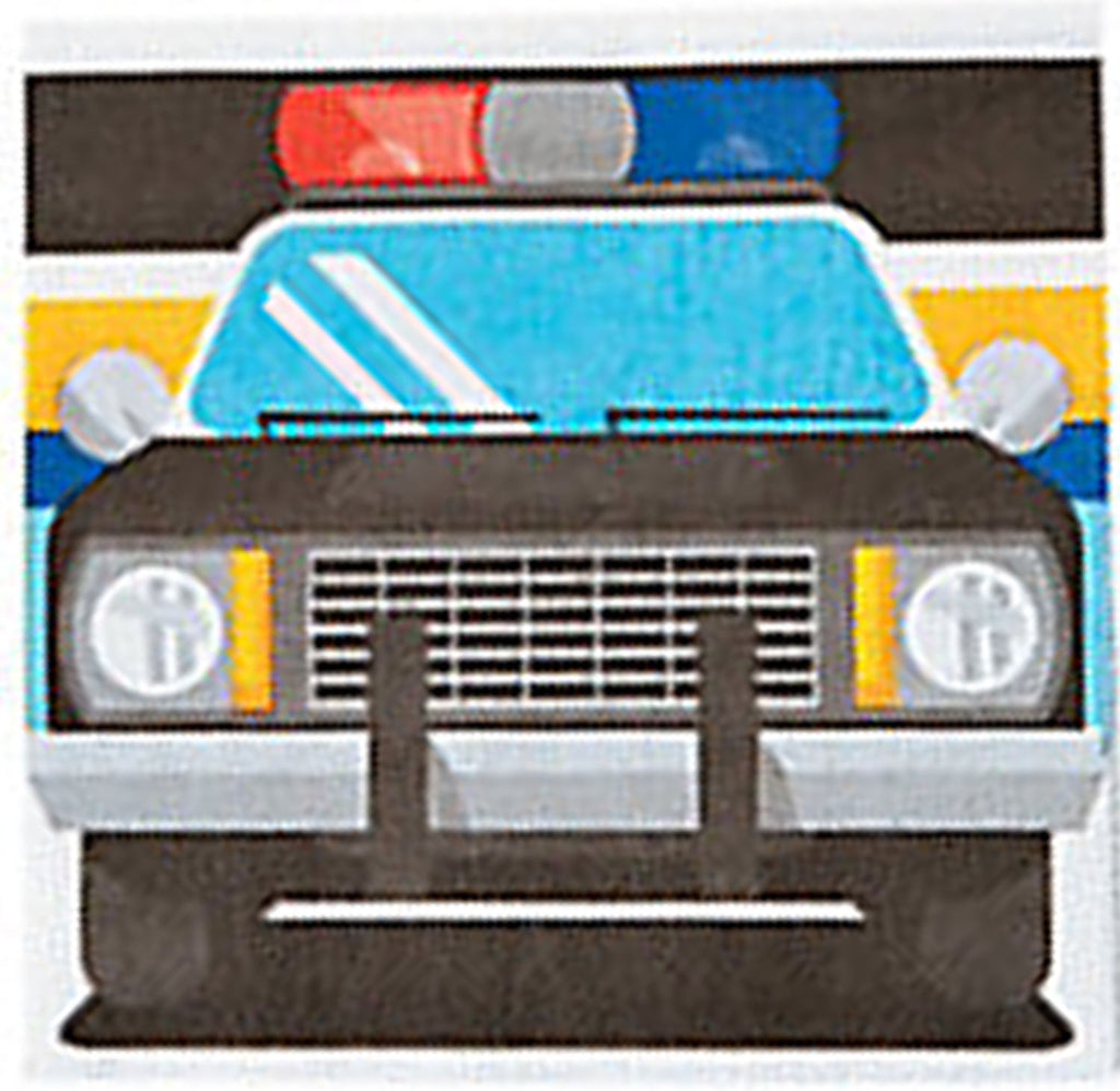 POLICE PARTY Squad Car Cruiser Fun Beverage Napkins Serviettes Pack 16 Free Post
