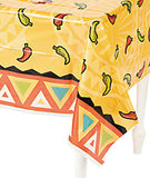 MEXICAN FIESTA PARTY Southwest Chillies Table Cover Plastic Tablecloth Free Post