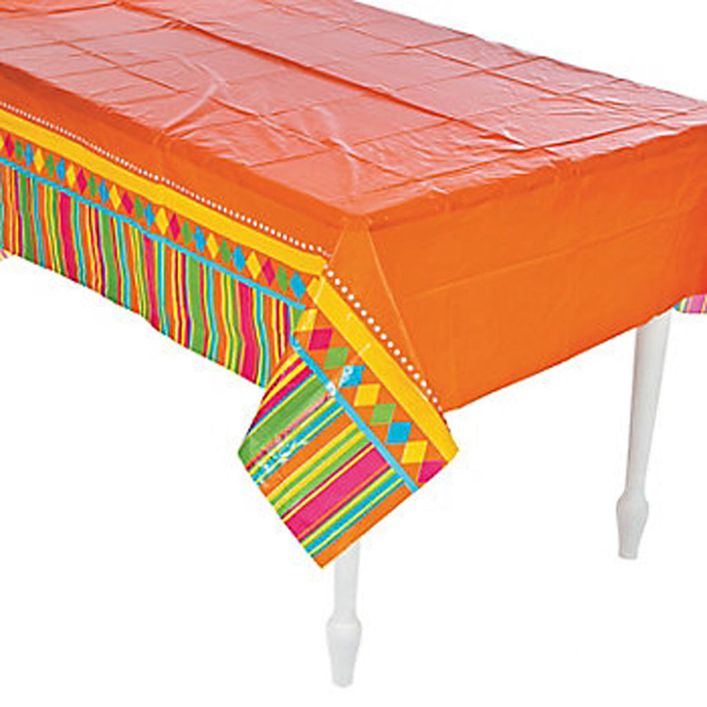 Red Fiesta Mexican Tablecover
