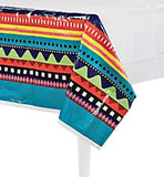 MEXICAN FIESTA PARTY Table Cover Plastic Tablecloth Tablecover Free Postage