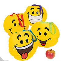 EMOJI PARTY ~ Smiley Face Tote Bag - pack of 4 - Free Delivery
