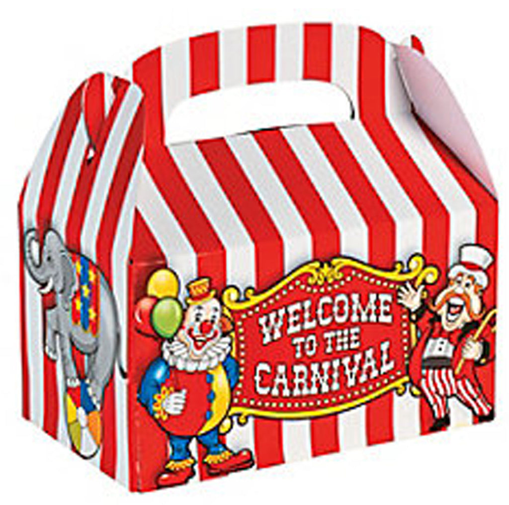 Circus Carnival Treat Boxes - Party by Post