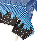 SUPERHERO PARTY Table Cover Super Hero Tablecloth Plastic Tablecover Free Post