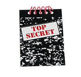 Top Secret Notepads - Party Favours - Party by Post