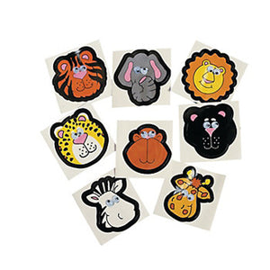 Jungle Safari Wiggly Eye Stickers