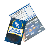Planet Passport Sticker Book