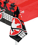 NINJA PARTY Samurai Warrior Table Cover Tablecloth 137cm x 274cm Free Postage