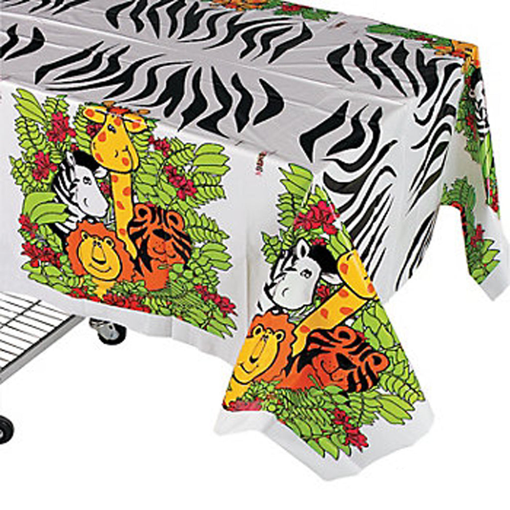 Zoo Animals Jungle Tablecover