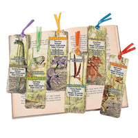 Dinosaur Bookmarks - Party by Post