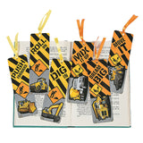 Construction Bookmarks - Party by Post