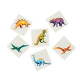 DINOSAUR PARTY Cool Dinosaur Tattoos Temporary Tattoo Pack of 36 Free Postage