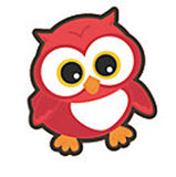 YOURE A HOOT OWL PARTY Owls Bulletin Board Cut-Outs 10cm Pack of 8 Free Postage