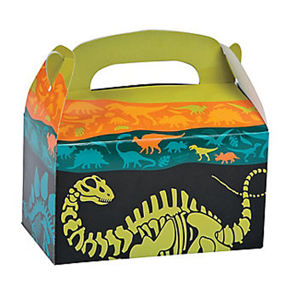Dinosaur Dino Dig Treat Boxes - Party by Post