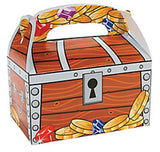 PIRATE PARTY Treasure Chest Treat Boxes Gift Box Pack of 6 Free Postage