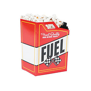 RACING CAR PARTY Fuel Can Design Popcorn Treat Boxes Pack of 6 Free Postage