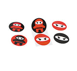 NINJA PARTY Sticker Samurai Warrior Stickers Favour Gift Pack of 50 Free Postage